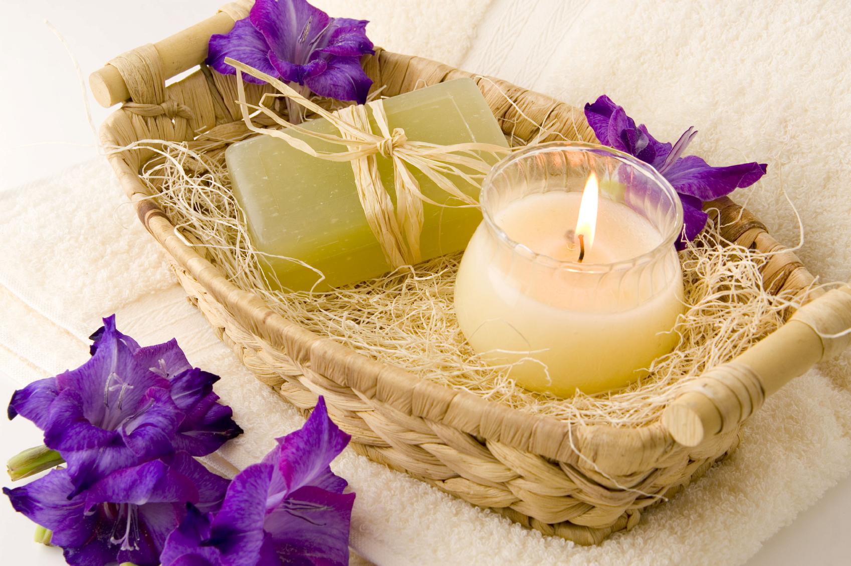 Purple Flower   Serenity Massage + Wellness Spa